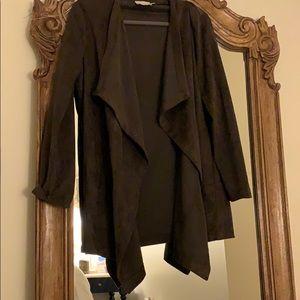 Brown suede lush jacket size medium.
